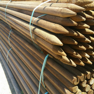 Round Lodgepole Tree Stakes